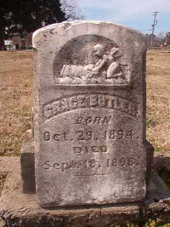 BUTLER, GRACE - Grant County, Arkansas | GRACE BUTLER - Arkansas Gravestone Photos