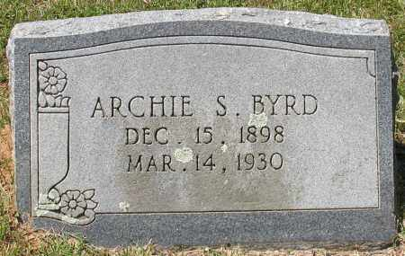 BYRD, ARCHIE SAMPSON - Grant County, Arkansas | ARCHIE SAMPSON BYRD - Arkansas Gravestone Photos