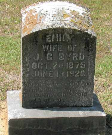 BYRD, EMILY - Grant County, Arkansas | EMILY BYRD - Arkansas Gravestone Photos