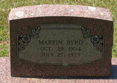 BYRD, MARTIN - Grant County, Arkansas | MARTIN BYRD - Arkansas Gravestone Photos