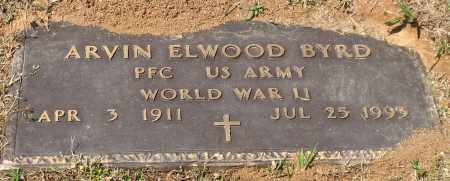 BYRD (VETERAN WWII), ARVIN ELWOOD - Grant County, Arkansas | ARVIN ELWOOD BYRD (VETERAN WWII) - Arkansas Gravestone Photos