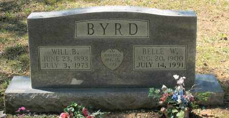 BYRD, WILL B. - Grant County, Arkansas | WILL B. BYRD - Arkansas Gravestone Photos