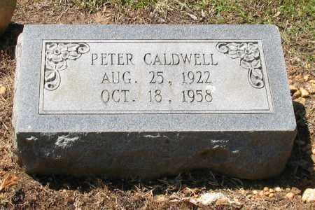 CALDWELL, PETER - Grant County, Arkansas | PETER CALDWELL - Arkansas Gravestone Photos