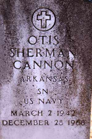 CANNON (VETERAN), OTIS SHERMAN - Grant County, Arkansas | OTIS SHERMAN CANNON (VETERAN) - Arkansas Gravestone Photos