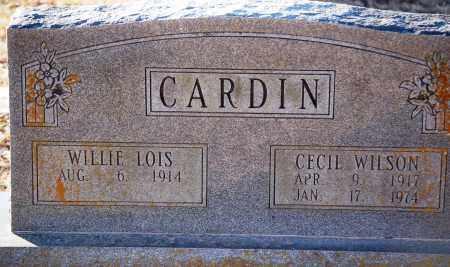 CARDIN, CECIL WILSON - Grant County, Arkansas | CECIL WILSON CARDIN - Arkansas Gravestone Photos