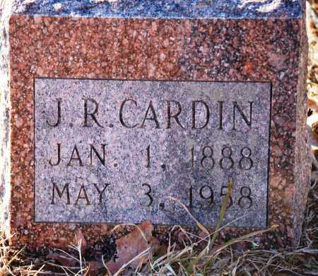 CARDIN, J. R. - Grant County, Arkansas | J. R. CARDIN - Arkansas Gravestone Photos