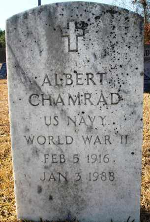 CHAMRAD (VETERAN WWII), ALBERT - Grant County, Arkansas | ALBERT CHAMRAD (VETERAN WWII) - Arkansas Gravestone Photos