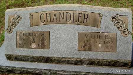 CHANDLER, MILLIE E - Grant County, Arkansas | MILLIE E CHANDLER - Arkansas Gravestone Photos