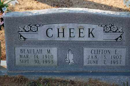 CHEEK, CLIFTON E - Grant County, Arkansas | CLIFTON E CHEEK - Arkansas Gravestone Photos