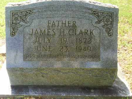 CLARK, JAMES H. - Grant County, Arkansas | JAMES H. CLARK - Arkansas Gravestone Photos