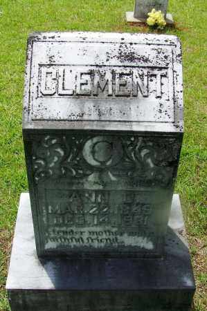CLEMENT, ANN - Grant County, Arkansas | ANN CLEMENT - Arkansas Gravestone Photos