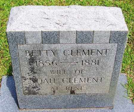 CLEMENT, BETTY - Grant County, Arkansas | BETTY CLEMENT - Arkansas Gravestone Photos
