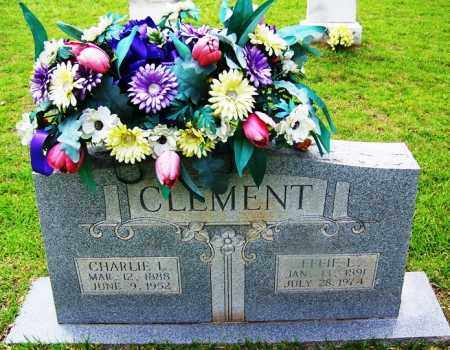 CLEMENT, CHARLIE L - Grant County, Arkansas | CHARLIE L CLEMENT - Arkansas Gravestone Photos