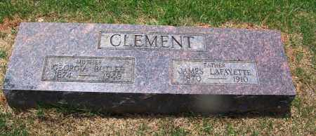 CLEMENT, JAMES LAFAYETTE - Grant County, Arkansas | JAMES LAFAYETTE CLEMENT - Arkansas Gravestone Photos