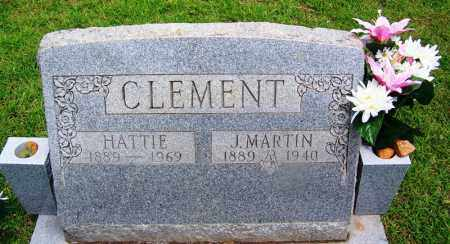 CLEMENT, J MARTIN - Grant County, Arkansas | J MARTIN CLEMENT - Arkansas Gravestone Photos