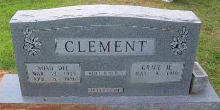CLEMENT, NOAH DEE - Grant County, Arkansas | NOAH DEE CLEMENT - Arkansas Gravestone Photos