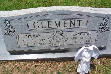CLEMENT, ERNESTINE - Grant County, Arkansas | ERNESTINE CLEMENT - Arkansas Gravestone Photos
