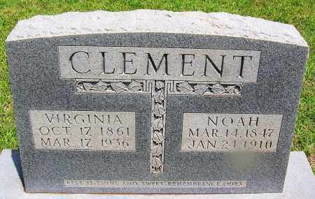 CLEMENT, NOAH - Grant County, Arkansas | NOAH CLEMENT - Arkansas Gravestone Photos