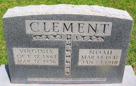 CLEMENT, VIRGINIA - Grant County, Arkansas | VIRGINIA CLEMENT - Arkansas Gravestone Photos
