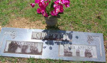 APPLING CLEMENT, WILMA - Grant County, Arkansas | WILMA APPLING CLEMENT - Arkansas Gravestone Photos