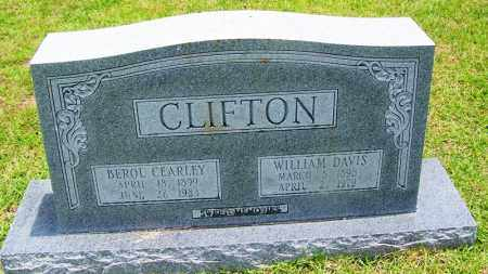 CLIFTON, BEROL CEARLEY - Grant County, Arkansas | BEROL CEARLEY CLIFTON - Arkansas Gravestone Photos