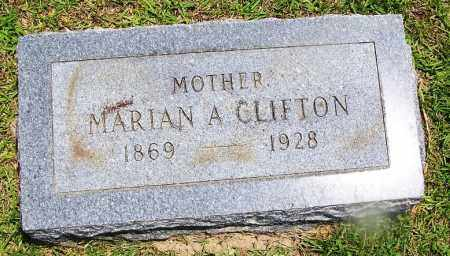 CLIFTON, MARIAN A. - Grant County, Arkansas | MARIAN A. CLIFTON - Arkansas Gravestone Photos