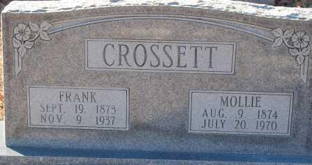 CROSSETT, MOLLIE - Grant County, Arkansas | MOLLIE CROSSETT - Arkansas Gravestone Photos