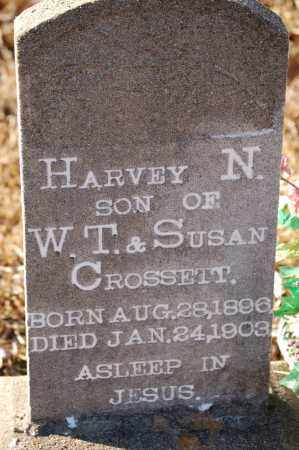 CROSSETT, HARVEY N. - Grant County, Arkansas | HARVEY N. CROSSETT - Arkansas Gravestone Photos