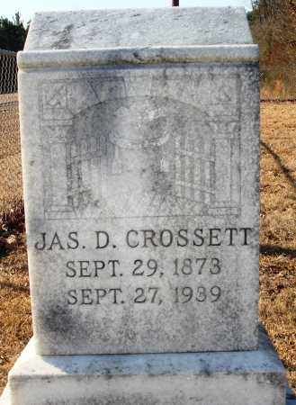 CROSSETT, JAMES D - Grant County, Arkansas | JAMES D CROSSETT - Arkansas Gravestone Photos