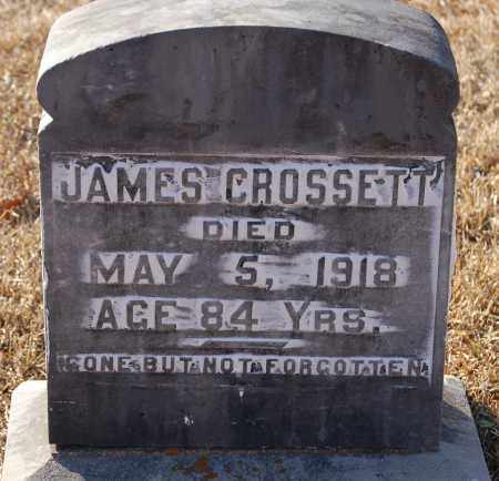 CROSSETT, JAMES - Grant County, Arkansas | JAMES CROSSETT - Arkansas Gravestone Photos