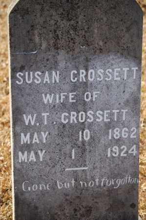 CROSSETT, SUSAN - Grant County, Arkansas | SUSAN CROSSETT - Arkansas Gravestone Photos
