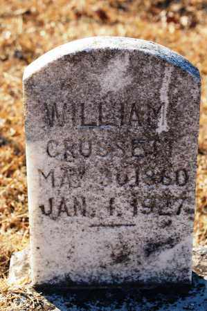 CROSSETT, WILLIAM - Grant County, Arkansas | WILLIAM CROSSETT - Arkansas Gravestone Photos