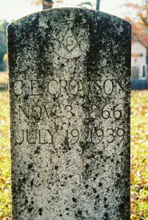CROWSON, C.E. - Grant County, Arkansas | C.E. CROWSON - Arkansas Gravestone Photos