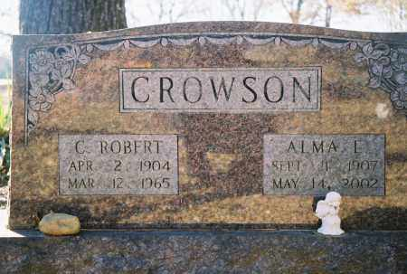CROWSON, C. ROBERT - Grant County, Arkansas | C. ROBERT CROWSON - Arkansas Gravestone Photos