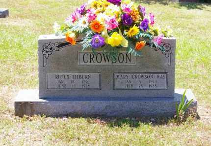 CROWSON, RUFUS - Grant County, Arkansas | RUFUS CROWSON - Arkansas Gravestone Photos