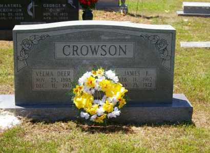 CROWSON, JAMES - Grant County, Arkansas | JAMES CROWSON - Arkansas Gravestone Photos