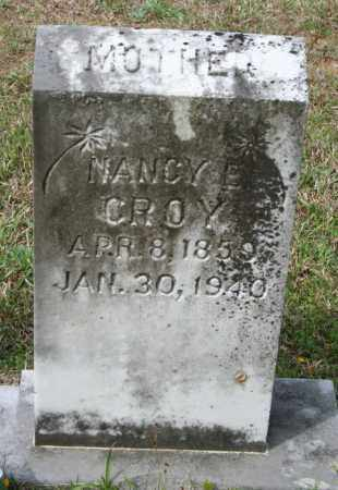 CROY, NARCISSUS E. - Grant County, Arkansas | NARCISSUS E. CROY - Arkansas Gravestone Photos
