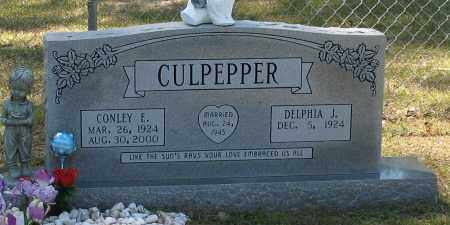 CULPEPPER, CONLEY E - Grant County, Arkansas | CONLEY E CULPEPPER - Arkansas Gravestone Photos