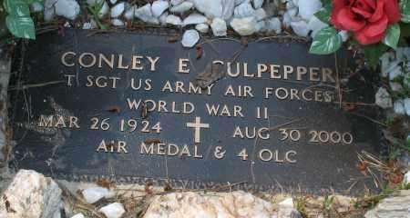 CULPEPPER (VETERAN WWII), CONLEY E. - Grant County, Arkansas | CONLEY E. CULPEPPER (VETERAN WWII) - Arkansas Gravestone Photos