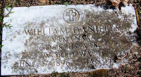 DANIELS (VETERAN WWI), WILLIAM - Grant County, Arkansas | WILLIAM DANIELS (VETERAN WWI) - Arkansas Gravestone Photos
