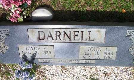 DARNELL, JOHN L - Grant County, Arkansas | JOHN L DARNELL - Arkansas Gravestone Photos