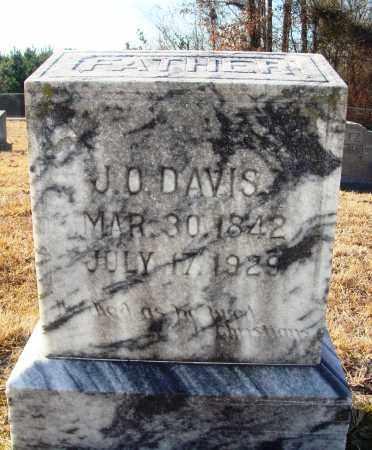DAVIS, J. O. - Grant County, Arkansas | J. O. DAVIS - Arkansas Gravestone Photos