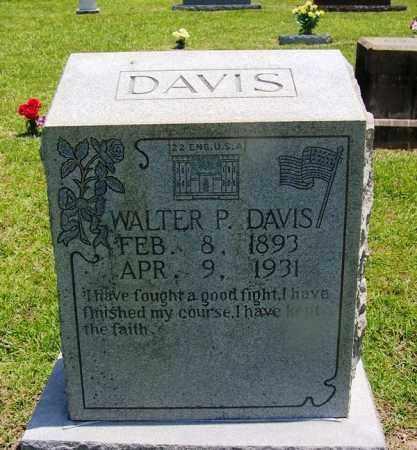 DAVIS (VETERAN), WALTER P - Grant County, Arkansas | WALTER P DAVIS (VETERAN) - Arkansas Gravestone Photos