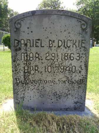 DICKIE, DANIEL B. - Grant County, Arkansas | DANIEL B. DICKIE - Arkansas Gravestone Photos