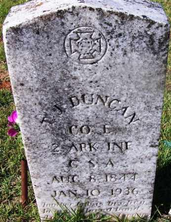 DUNCAN (VETERAN CSA), THOMAS JEFFERSON - Grant County, Arkansas | THOMAS JEFFERSON DUNCAN (VETERAN CSA) - Arkansas Gravestone Photos