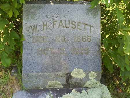 FAUSETT, W. H. - Grant County, Arkansas | W. H. FAUSETT - Arkansas Gravestone Photos