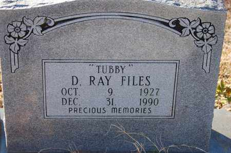 "FILES, D. RAY ""TUBBY"" - Grant County, Arkansas 