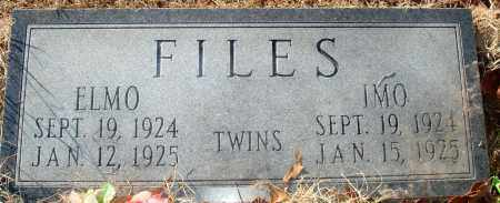FILES, ELMO - Grant County, Arkansas | ELMO FILES - Arkansas Gravestone Photos