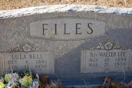 FILES, WALTER LEE - Grant County, Arkansas | WALTER LEE FILES - Arkansas Gravestone Photos
