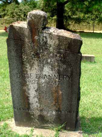 FLANNERY, DIXIE - Grant County, Arkansas | DIXIE FLANNERY - Arkansas Gravestone Photos